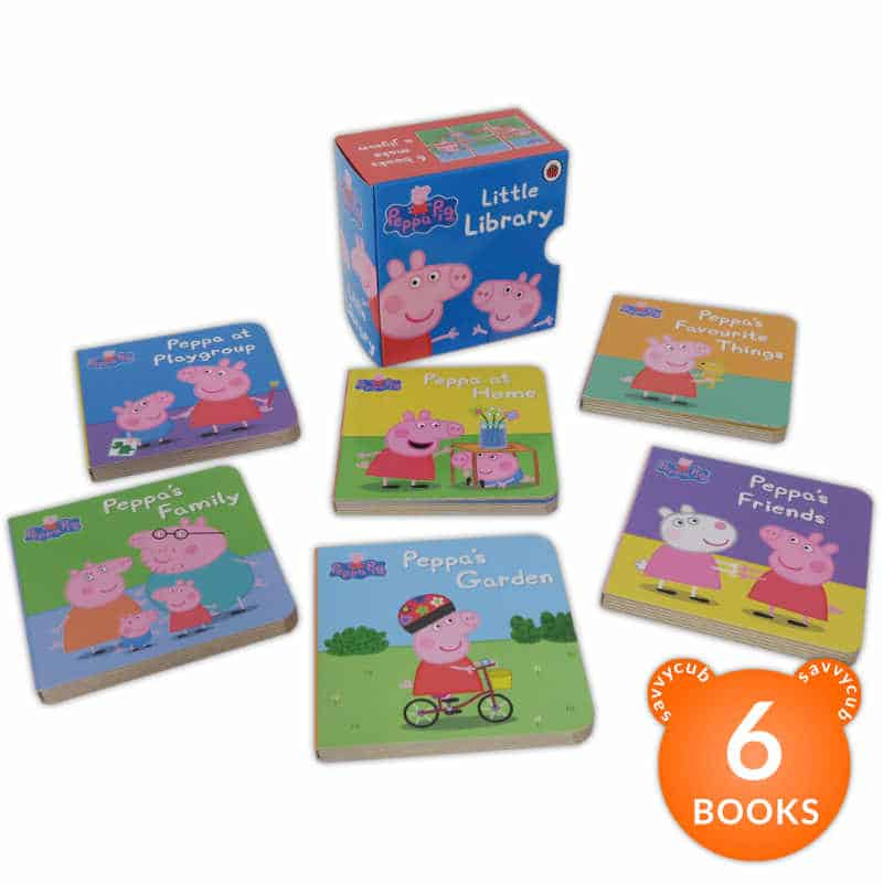 Peppa Pig Little Library 6 Books